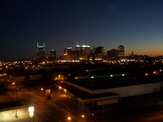Nashville @ night