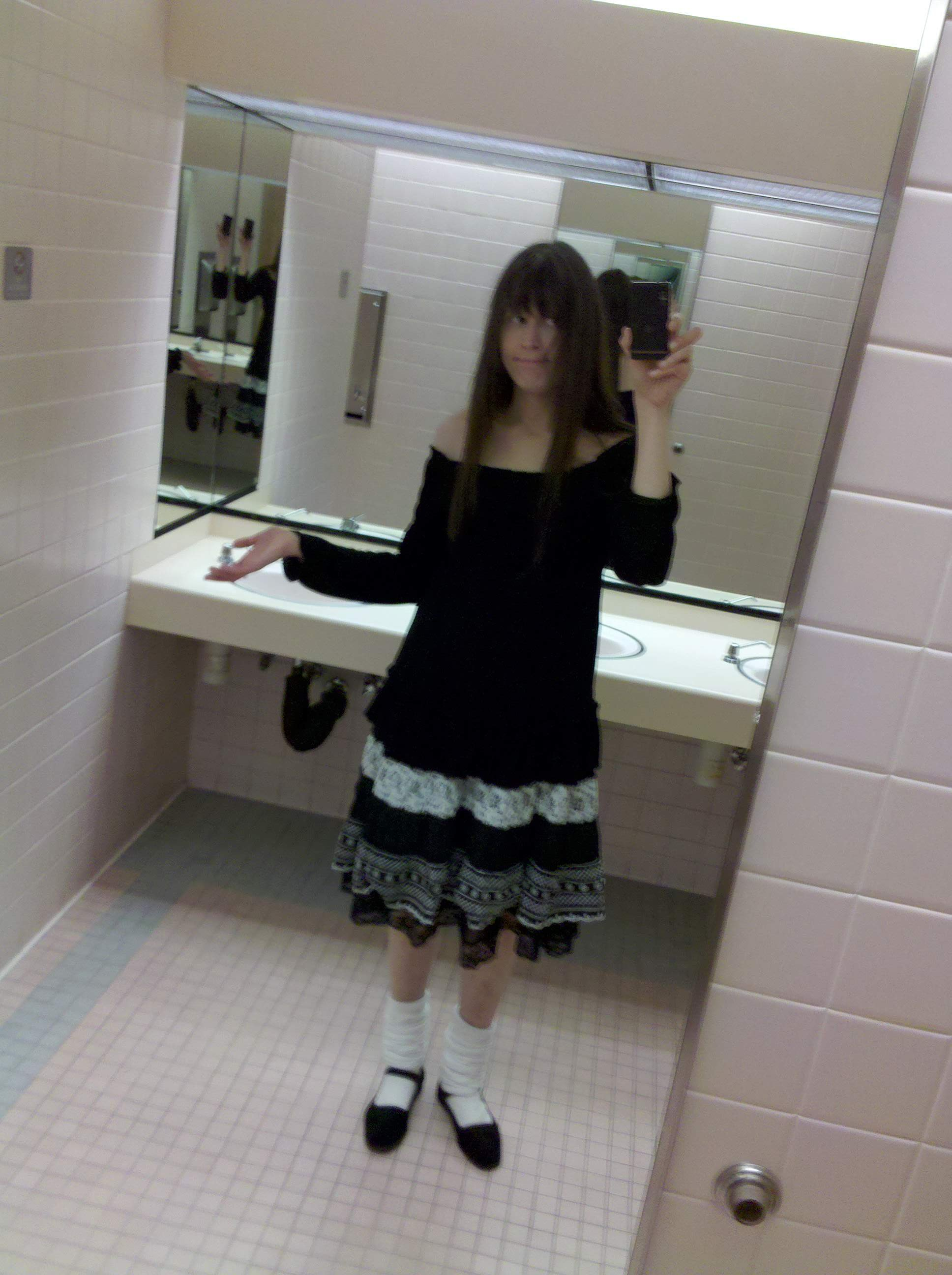 Me in a bathroom 2