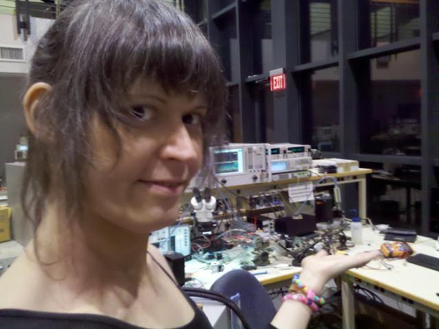 Working on da Project Sango @ NXP's Rhode Island RF Lab