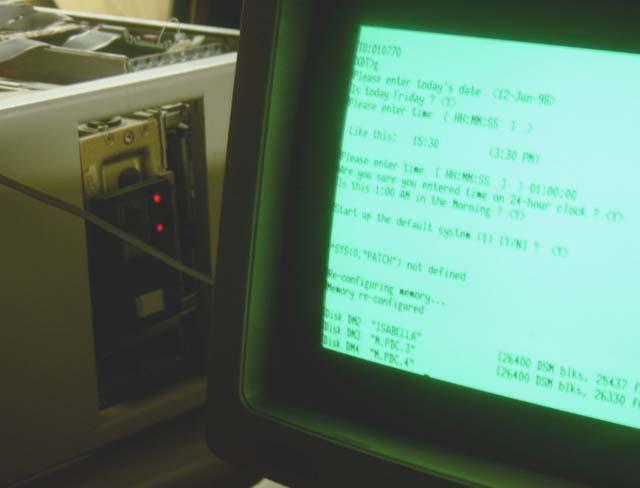 PDP-11/73 Booting DSM-11