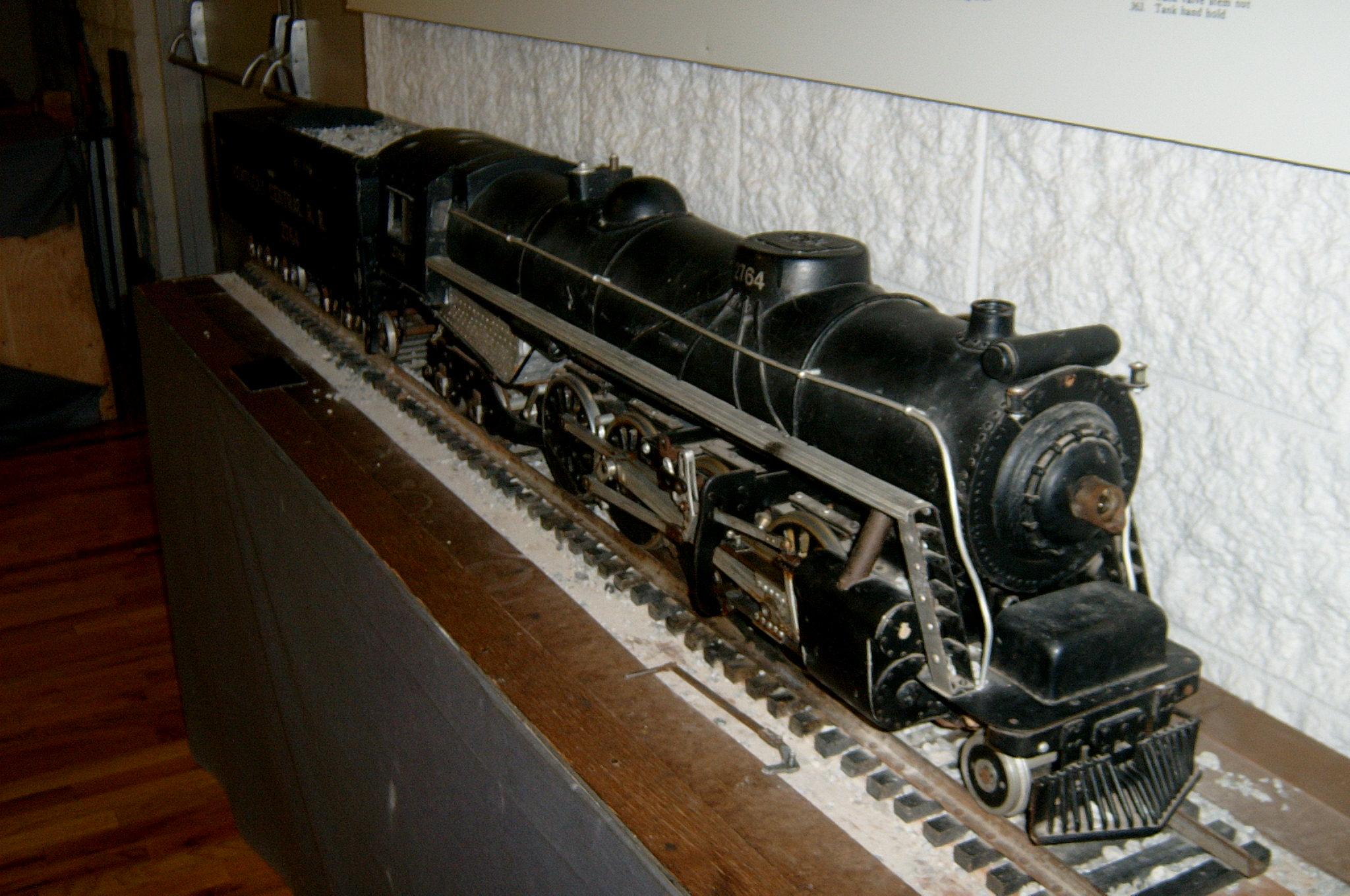 Old model train