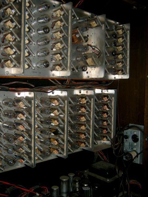 Old organ w/tubes