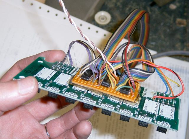 pH/PPM Meter - The display all hotglued