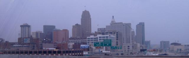 Cincinatti from highway