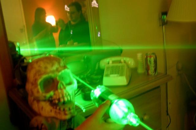 Ooo wow lasers!