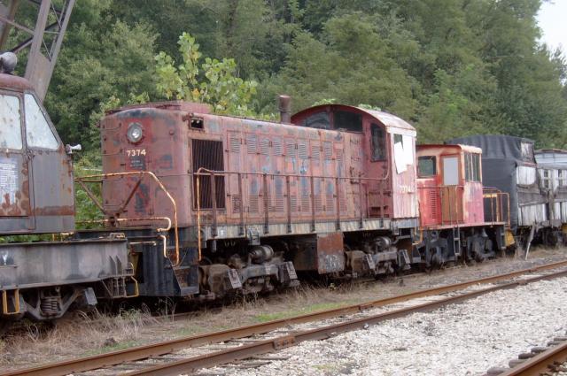 Rusting Engines