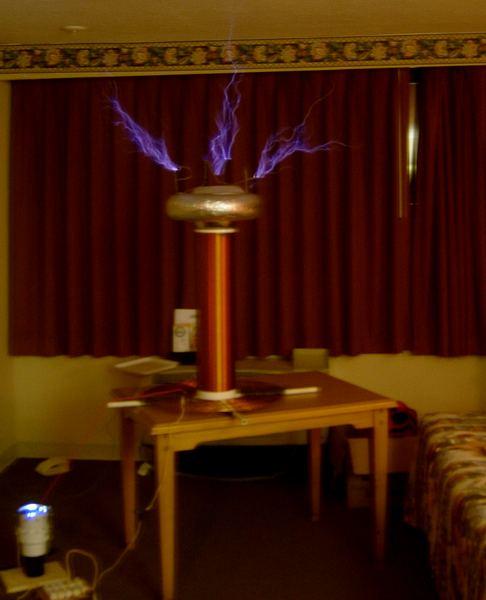 Tesla Coil Firing