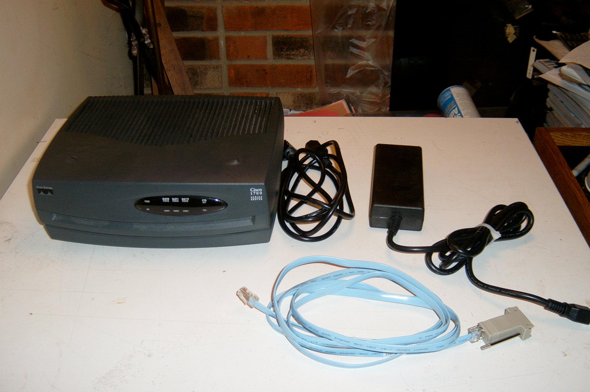 cisco router1