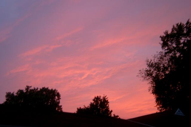 Weird Sunset