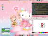 Hello Kitty Ubuntu (Desktop Screenshot)